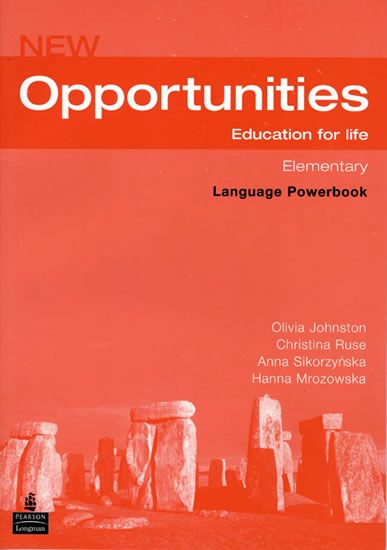 Johnston Olivia: New Opportunities Global Elementary Language Powerbook Pack