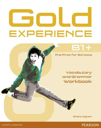 Dignen Sheila: Gold Experience B1+ Workbook without key