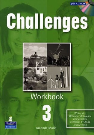 Maris Amanda: Challenges 3 Workbook and CD-Rom Pack