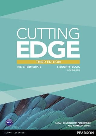 Crace Araminta: Cutting Edge 3rd Edition Pre-Intermediate Students´ Book and DVD Pack