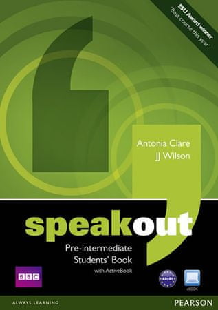 Clare Antonia: Speakout Pre-Intermediate Students book and DVD/Active Book Multi Rom Pack