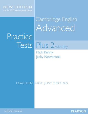 Kenny Nick: Cambridge Advanced Practice Tests Plus New Edition Students´ Book with Key