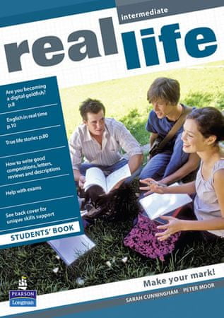 Cunningham Sarah: Real Life Global Intermediate Students Book