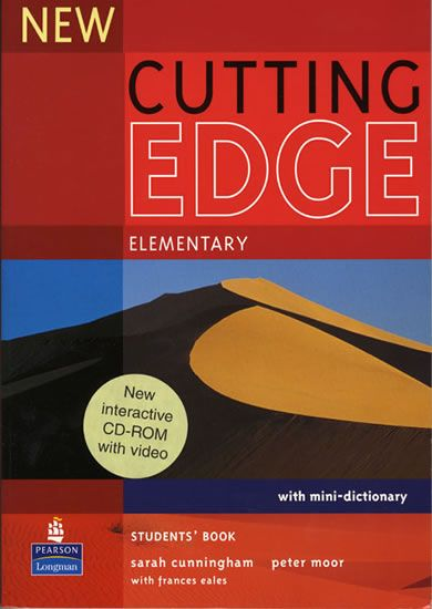 Cunningham Sarah: New Cutting Edge Elementary Students Book and CD-Rom Pack