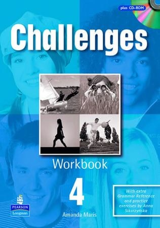 Maris Amanda: Challenges 4 Workbook and CD-Rom Pack