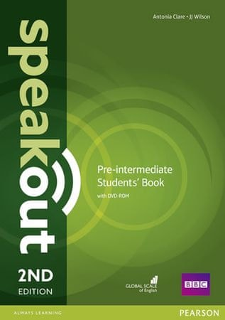 Clare Antonia: Speakout Pre-Intermediate 2nd Edition Students´ Book and DVD-ROM Pack