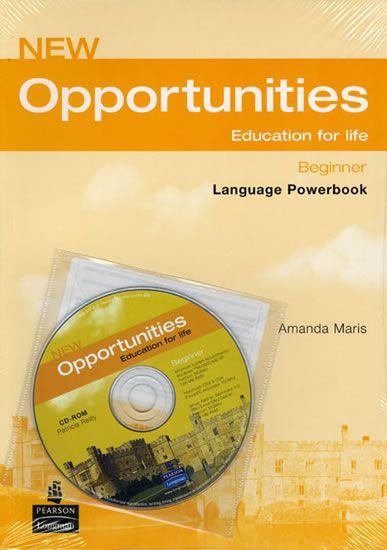 Maris Amanda: New Opportunities Global Beginner Language Powerbook Pack