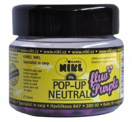 Nikl fluoro pop-up 50 g 10 mm Fialová