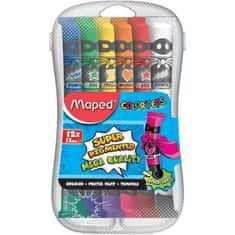 Maped tempera barvice, 6/1, 75 ml, PVC