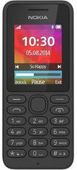 Nokia GSM telefon 130 Dual Sim, črn