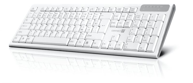Connect IT Multimediální bezdrátová klávesnice (CKB-3010-CS) ae23151fbf