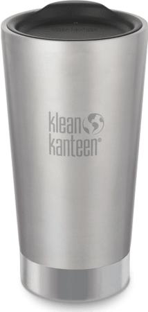 Klean Kanteen termo lonček, 473 ml, srebrn