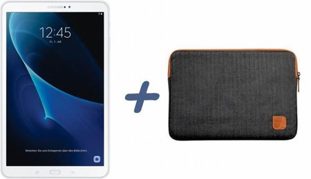 Samsung tablični računalnik Tab A 2016 10.1, bel + torbica Port