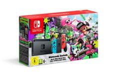 Nintendo Switch + Joy-Con modrý/červený + Splatoon 2