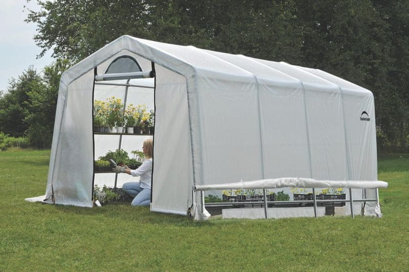 ShelterLogic plachtový skleník SHELTERLOGIC 3,0 x 6,1 m - 35 mm - 70658EU