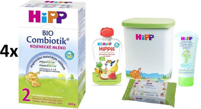 HiPP 2 BIO Combiotic - 4x600g + DÁRKY