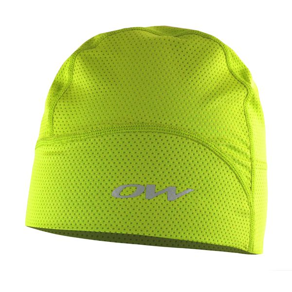 One Way Trace Mesh hat Yellow