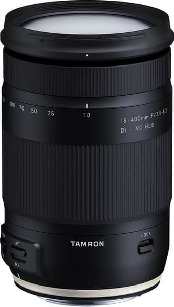 Tamron 18-400 mm AF f/3,5-6,3 Di-II VC HLD pro Nikon (5 let záruka)