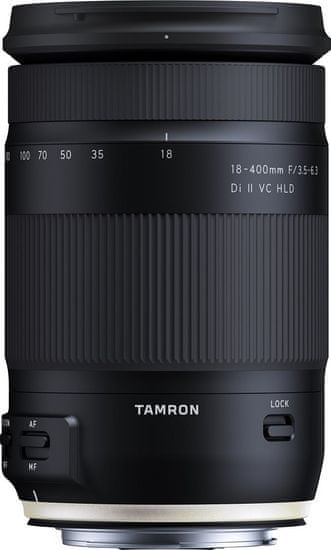 Tamron 18-400 mm AF f/3,5-6,3 Di-II VC HLD pro CANON (5 let záruka)