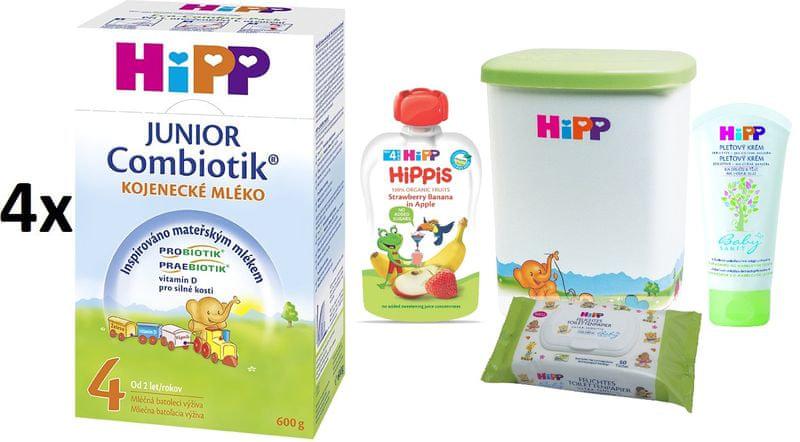 HiPP 4 Junior Combiotic - 4 x 600g + DÁRKY