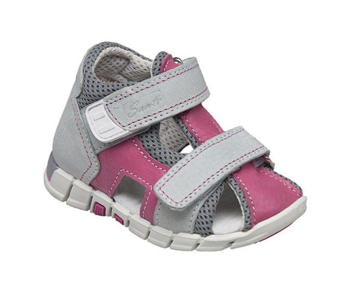 SANTÉ Zdravotní obuv dětská N/810/401/S15/S45 růžová (Velikost vel. 19)