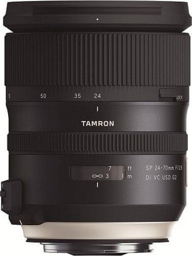 Tamron objektiv SP 24-70 mm f/2.8 VC USD G2 (Nikon in Canon)