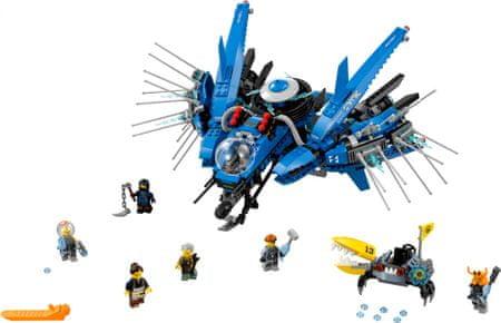 LEGO NINJAGO™ 70614 Odrzutowiec Błyskawica