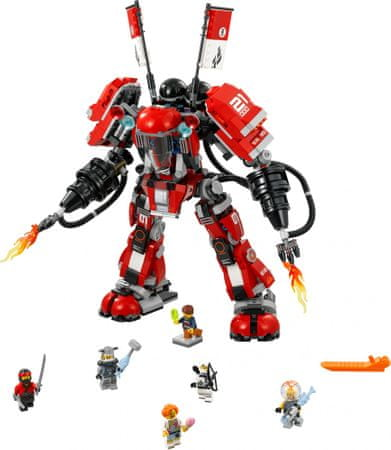 LEGO NINJAGO 70615 Ognjeni robot