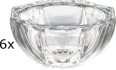 Previosa steklene posodice, 6 kosov