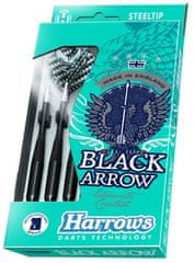 Harrows Šipky Black Arrow steel