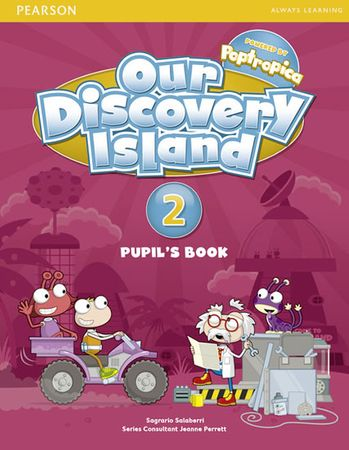 Burnford Sheila: Our Discovery Island  2 Student´s Book plus pin code