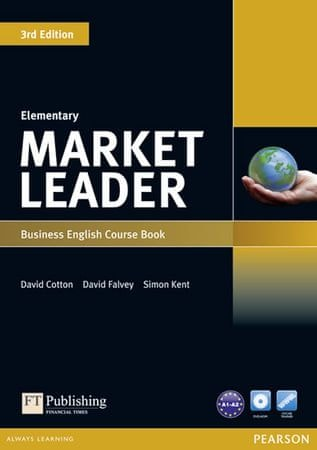 Cotton David: Market Leader 3rd Edition Elementary Coursebook & DVD-Rom Pack
