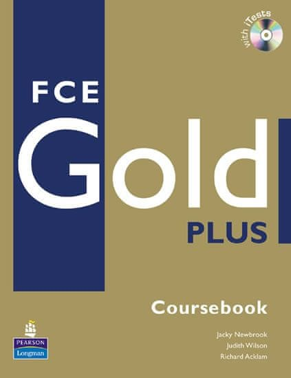 Newbrook Jacky: FCE Gold Plus Coursebook and CD-ROM Pack