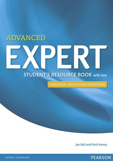 Bell Jan: Expert Advanced 3rd Edition Student´s Resource Book with Key