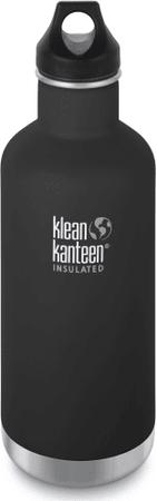 Klean Kanteen steklenica za vodo Classic, 946 ml, črna