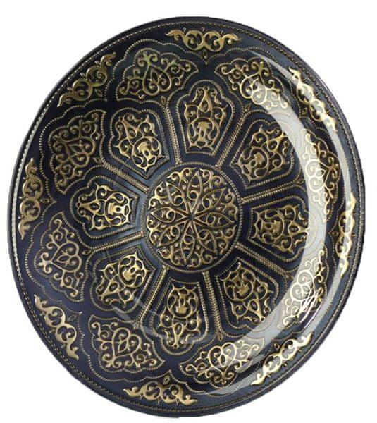 Previosa Tác Heritage Topkapi zlato/černá 35 cm