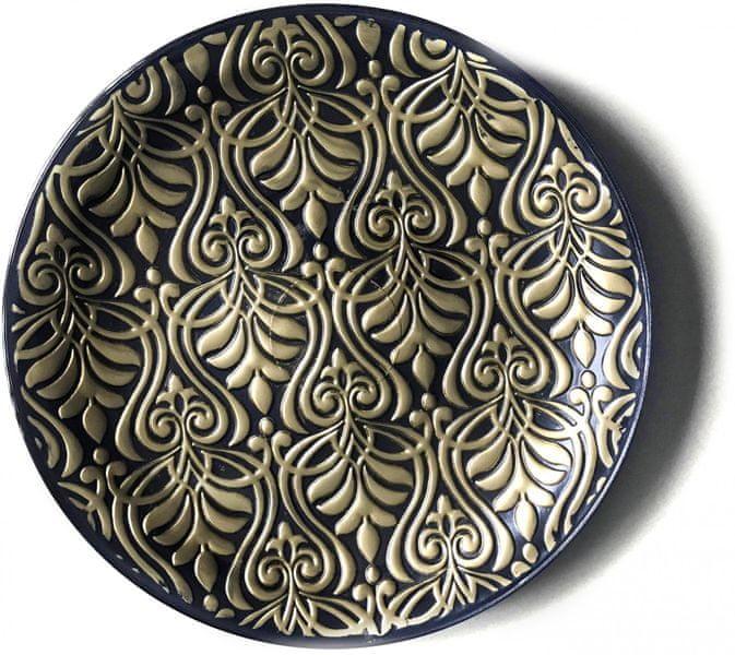 Previosa Tác Heritage Versailes zlato/černá 35 cm