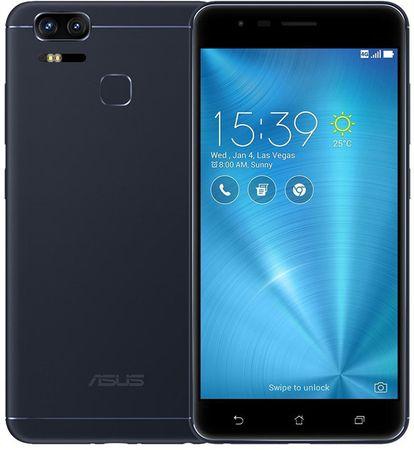 Asus ZenFone ZOOM S ZE553KL Okostelefon Fekete