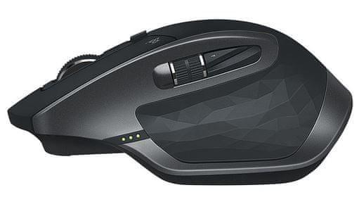 Logitech MX Master 2S laserska BT brezžična miška, grafit