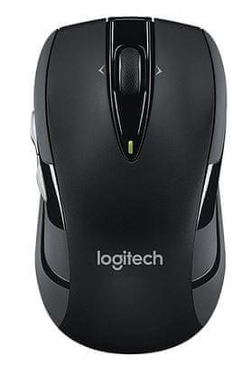 Logitech M545 brezžična miška, črna