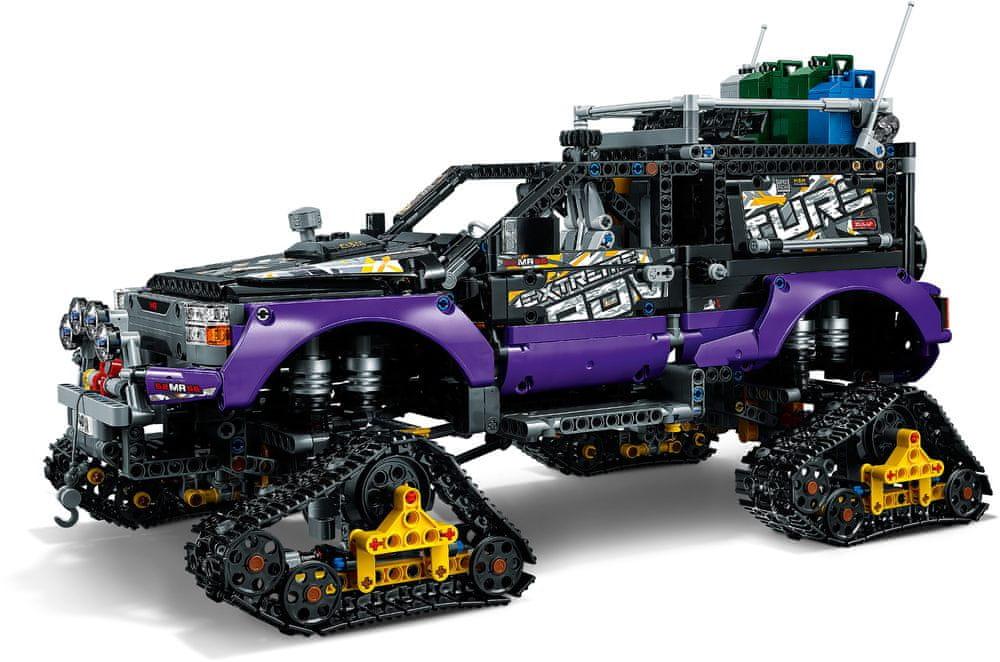 LEGO Technic 42069 Extrémní dobrodružství - rozbaleno