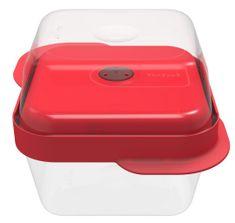 TEFAL MasterSeal négyzet alakú tároló készlet 1,08 l,0,8 l