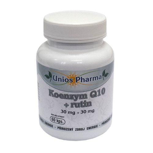 Unios Pharma Koenzym Q10 + rutin 60 kapslí