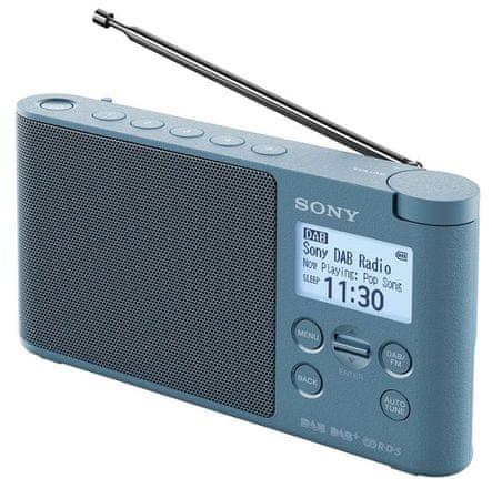 SONY radio przenośne XDRS41D, niebieski