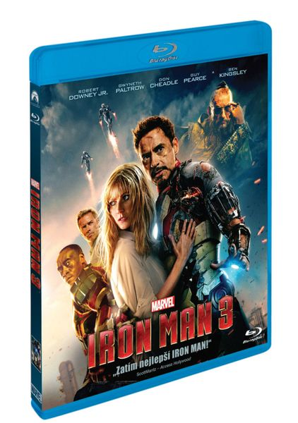 Iron Man 3. - Blu-ray