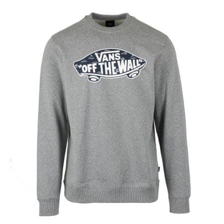 Vans pulover Otw Crew, siv, S