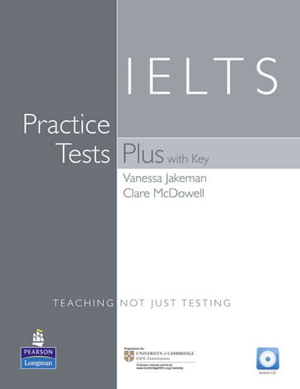 Jakeman Vanessa: Practice Tests Plus IELTS With Key & CD Pack