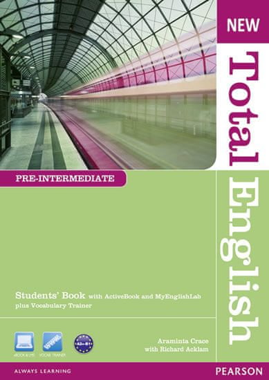 Crace Araminta: New Total English Pre-Intermediate Students´ Book with Active Book and MyLab Pack