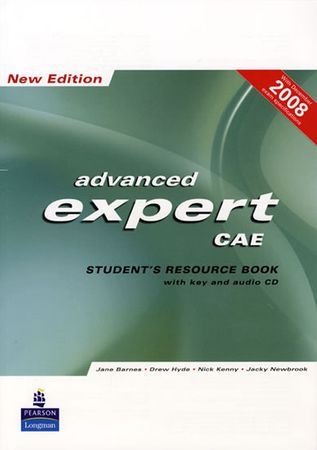 Barnes Jane: CAE Expert New Edition Students Resource Book with Key/Cd Pack