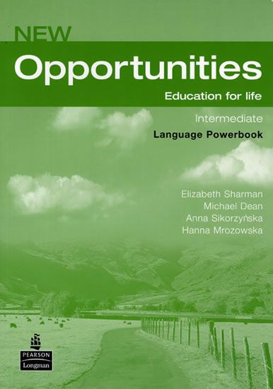 Dean Michael: New Opportunities Global Intermediate Language Powerbook Pack